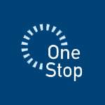 Image of the Delaware One Stop logo